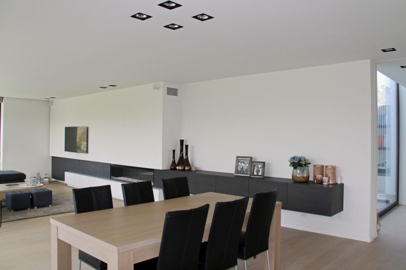 Inrichting en interieur op maat bij Interieur Lievens Izegem - Living